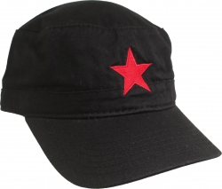 View Buying Options For The Che Guevara Military Red Star Mens Cadet Cap