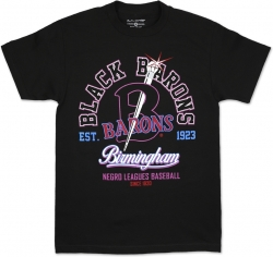 View Buying Options For The Birmingham Black Barons NLBM Legend Graphic S8 Mens Tee