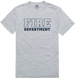 View Buying Options For The RapDom Fire Dept Text Graphic Relaxed Mens Tee