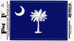 View Buying Options For The South Carolina State Flag Car Decal Sticker [Pre-Pack]