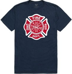 View Buying Options For The RapDom Fire Dept Graphic Relaxed Mens Tee