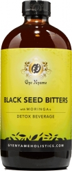 View Buying Options For The Gye Nyame Black Seed Bitters Detox Beverage with Moringa