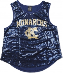 View Buying Options For The Big Boy Kansas City Monarchs NLBM Ladies Sequins Tank Top
