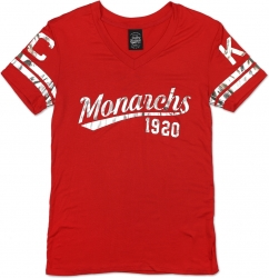 View Buying Options For The Big Boy Kansas City Monarchs NLBM Ladies Foil Tee