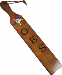 View Buying Options For The Eastern Star Branded Letters Traditional Paddle
