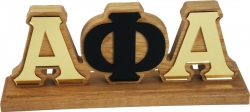 View Buying Options For The Alpha Phi Alpha Mirror Desktop Piece