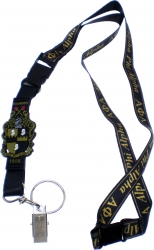View Buying Options For The Alpha Phi Alpha PVC Shield Lanyard Keychain