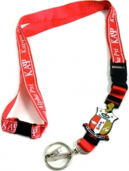 View Buying Options For The Kappa Alpha Psi PVC Shield Lanyard Keychain