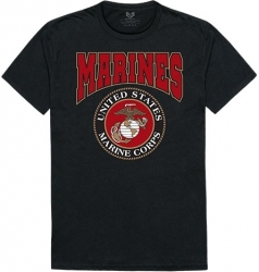 View Buying Options For The RapDom Marines Graphic Relaxed Mens Tee