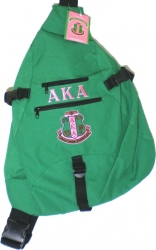 View Buying Options For The Alpha Kappa Alpha Sling Backpack