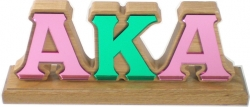 View Buying Options For The Alpha Kappa Alpha Mirror Desktop Piece