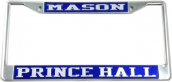 View Buying Options For The Mason Prince Hall License Plate Frame