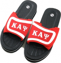 View Buying Options For The Kappa Alpha Psi Strapped Mens Flip Flop Sandals