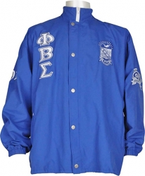 View Buying Options For The Phi Beta Sigma Fraternity Mens All-Weather Windbreaker Jacket