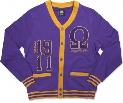 View Buying Options For The Big Boy Omega Psi Phi Divine 9 S3 Mens Lightweight Cardigan
