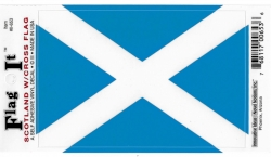 View Buying Options For The Scotland Cross Flag Car Decal Sticker [Pre-Pack]