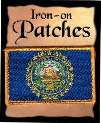 View Buying Options For The New Hampshire State Flag Iron-On Patch [Pre-Pack]