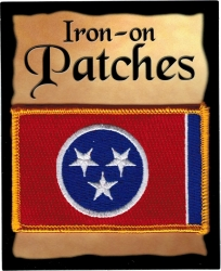 View Buying Options For The Tennessee State Flag Iron-On Patch [Pre-Pack]