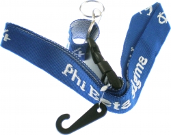 View Buying Options For The Phi Beta Sigma Classic Woven Embroidered Lanyard