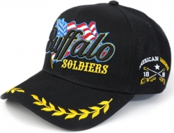 View Buying Options For The Big Boy Buffalo Soldiers S52 Mens Cap