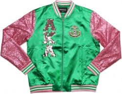 View Buying Options For The Big Boy Alpha Kappa Alpha Divine 9 S2 Ladies Sequins Jacket