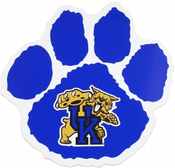 View Buying Options For The Kentucky Wildcats Paw Logo Magnet