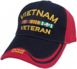 View Buying Options For The US Honor Vietnam Veteran Bar Double/Double Image Shadow Mens Hat