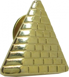 View Buying Options For The Prince Hall Shriner Pyramid Symbol Lapel Pin
