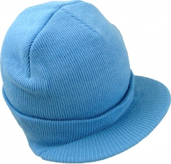 View Buying Options For The Classic Plain Visor Billed Mens Beanie Sock Cap