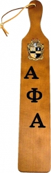 View Buying Options For The Alpha Phi Alpha Branded Letters Traditional Paddle
