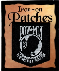 View Buying Options For The POW MIA Shield Seal Banner Iron-On Patch [Pre-Pack]