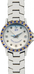 View Buying Options For The Sigma Gamma Rho Austrian Crystal Ladies Watch