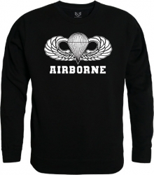 View Buying Options For The RapDom Airborne Parachutist Badge Graphic Mens Crewneck Sweatshirt