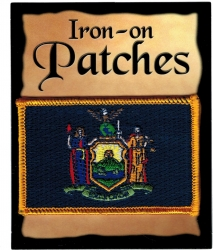 View Buying Options For The New York State Flag Iron-On Patch [Pre-Pack]