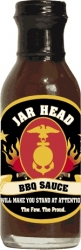 View Buying Options For The Marines Jar Head Vanity Gift Spicy BBQ Sauce