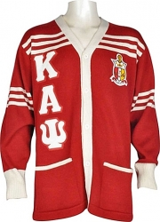 View Buying Options For The Kappa Alpha Psi Fraternity Mens Cardigan Sweater