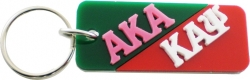 View Buying Options For The Alpha Kappa Alpha + Kappa Alpha Psi Mirror Split Keychain