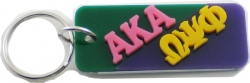 View Buying Options For The Alpha Kappa Alpha + Omega Psi Phi Mirror Split Keychain