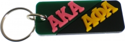 View Buying Options For The Alpha Kappa Alpha + Alpha Phi Alpha Mirror Split Keychain