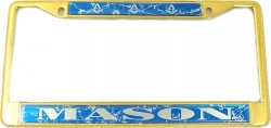 View Buying Options For The Mason Domed License Plate Frame