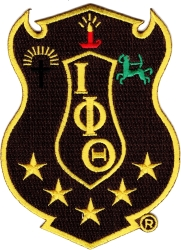 View Buying Options For The Iota Phi Theta Shield Iron-On Patch