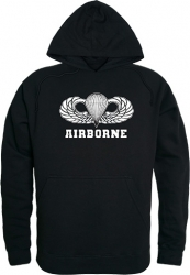View Buying Options For The RapDom Airborne Parachute Badge Graphic Mens Pullover Hoodie