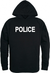 View Buying Options For The RapDom Police Text Graphic Mens Pullover Hoodie