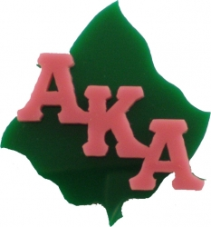 View Buying Options For The Alpha Kappa Alpha Leaf Symbol Lapel Pin