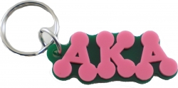 View Buying Options For The Alpha Kappa Alpha Bubble Keychain