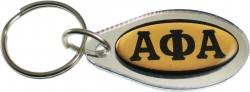View Buying Options For The Alpha Phi Alpha Tear Drop Domed Mirror Keychain