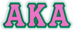 View Buying Options For The Alpha Kappa Alpha Reflective Decal Sticker