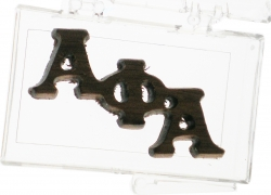 View Buying Options For The Alpha Phi Alpha Small Wood Lapel Pin