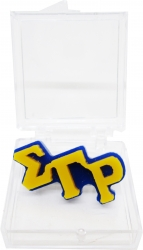 View Buying Options For The Sigma Gamma Rho Small Letter Lapel Pin