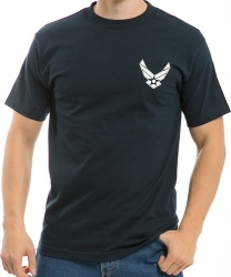 View Buying Options For The RapDom Air Force Wings 2 Classic Military Mens Tee